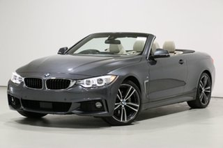 2017 BMW 440i F33 MY17 40I Mineral Grey 8 Speed Automatic Convertible.