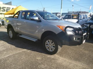2015 Mazda BT-50 UP0YF1 XTR Freestyle Silver 6 Speed Automatic Utility.