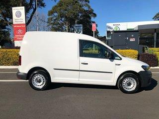 2019 Volkswagen Caddy 2KN MY19 TDI250 SWB DSG White 6 Speed Sports Automatic Dual Clutch Van.