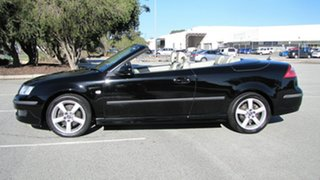 2006 Saab 9-3 442 MY2006 Vector Black 5 Speed Sports Automatic Convertible.