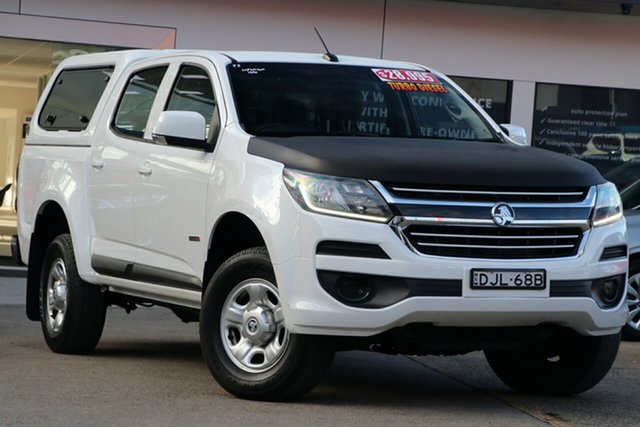Used Holden Colorado RG MY17 LS (4x2), 2016 Holden Colorado RG MY17 LS (4x2) White 6 Speed Automatic Cab Chassis