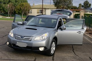 2011 Subaru Outback MY11 2.0D AWD Silver 6 Speed Manual Wagon
