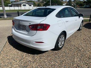 2018 Holden Astra LS Plus White 6 Speed Automatic Sedan