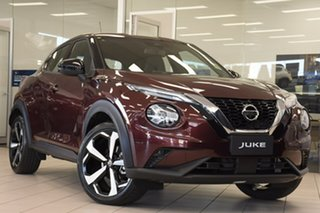 2020 Nissan Juke F16 ST-L DCT 2WD Burgundy 7 Speed Sports Automatic Dual Clutch Hatchback