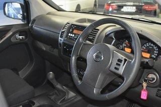 2007 Nissan Navara D40 ST-X (4x4) Silver 6 Speed Manual Dual Cab Pick-up.
