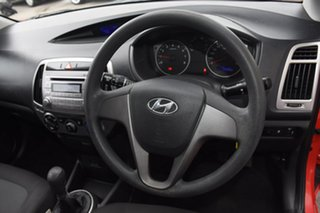 2012 Hyundai i20 PB MY12 Active Red 5 Speed Manual Hatchback