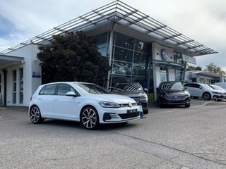 2019 Volkswagen Golf 7.5 MY20 GTI DSG White 7 Speed Sports Automatic Dual Clutch Hatchback.