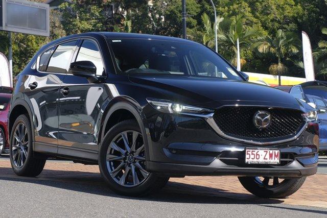 Demo Mazda CX-5 KF4WLA Akera SKYACTIV-Drive i-ACTIV AWD, 2019 Mazda CX-5 KF4WLA Akera SKYACTIV-Drive i-ACTIV AWD Jet Black 6 Speed Sports Automatic Wagon