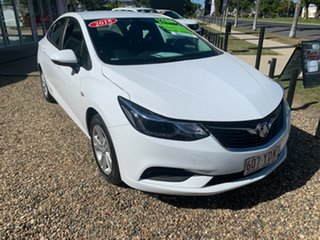 2018 Holden Astra LS Plus White 6 Speed Automatic Sedan.