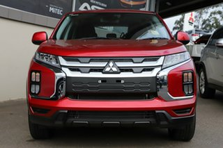 2020 Mitsubishi ASX XD MY21 ES 2WD Red Diamond 1 Speed Constant Variable Wagon