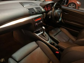 2010 BMW 1 Series E82 MY10 123d Steptronic Red 6 Speed Sports Automatic Coupe.
