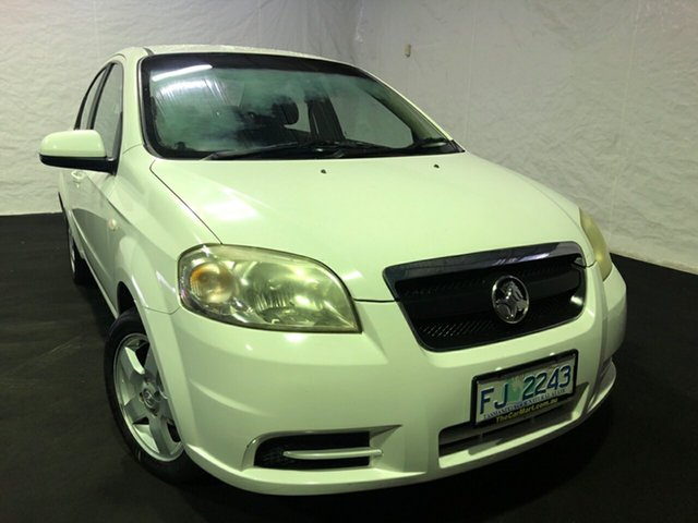 Used Holden Barina TK , 2006 Holden Barina TK White 4 Speed Automatic Sedan