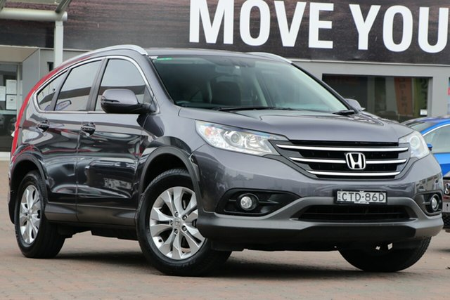 Used Honda CR-V RM MY15 VTi 4WD, 2014 Honda CR-V RM MY15 VTi 4WD Grey 5 Speed Sports Automatic Wagon