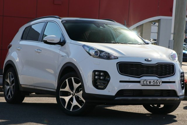 Used Kia Sportage QL MY18 GT-Line AWD, 2018 Kia Sportage QL MY18 GT-Line AWD White 6 Speed Sports Automatic Wagon
