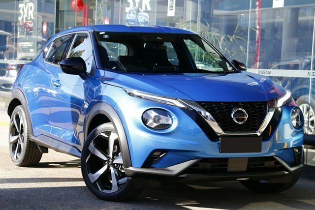 New Nissan Juke F16 ST-L DCT 2WD St Marys, 2020 Nissan Juke F16 ST-L DCT 2WD Vivid Blue 7 Speed Sports Automatic Dual Clutch Hatchback
