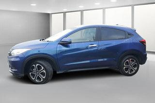 2018 Honda HR-V MY17 VTi-L Blue Mica Metallic 1 Speed Hatchback.