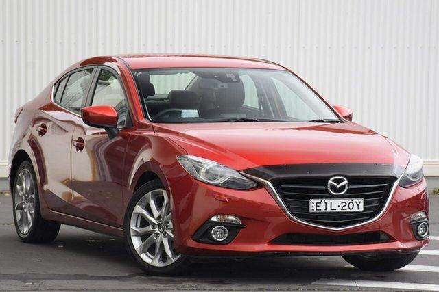 Used Mazda 3 BM5238 SP25 SKYACTIV-Drive GT, 2014 Mazda 3 BM5238 SP25 SKYACTIV-Drive GT Red 6 Speed Sports Automatic Sedan