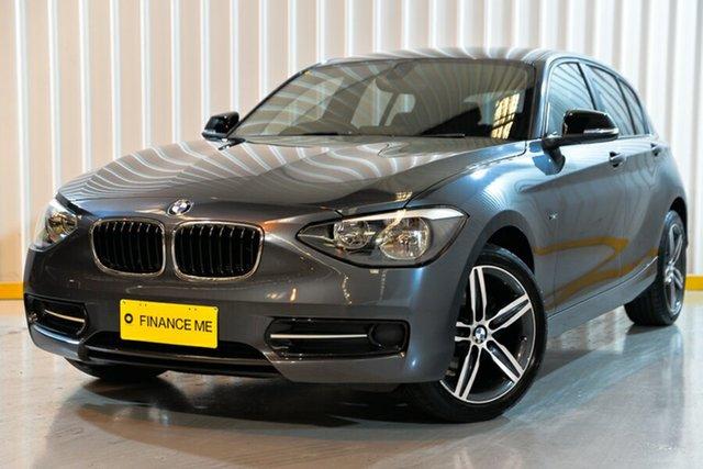 Used BMW 1 Series F20 MY0314 116i Steptronic, 2014 BMW 1 Series F20 MY0314 116i Steptronic Grey 8 Speed Sports Automatic Hatchback