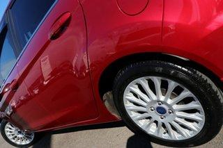 2017 Ford Fiesta WZ Sport PwrShift Red 6 Speed Sports Automatic Dual Clutch Hatchback