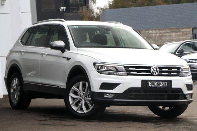 Demo Volkswagen Tiguan 5N MY20 110TSI Comfortline DSG 2WD Allspace, 2019 Volkswagen Tiguan 5N MY20 110TSI Comfortline DSG 2WD Allspace White 6 Speed