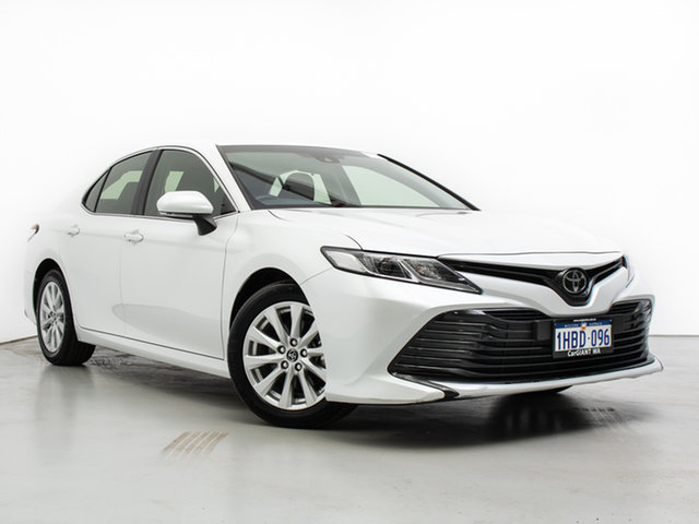 Used Toyota Camry ASV70R Ascent, 2018 Toyota Camry ASV70R Ascent White 6 Speed Automatic Sedan