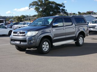 2011 Toyota Hilux GGN25R MY12 SR5 Double Cab Graphite 5 Speed Automatic Utility.