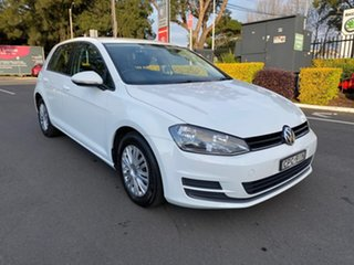 2013 Volkswagen Golf 7 90TSI White Sports Automatic Dual Clutch.