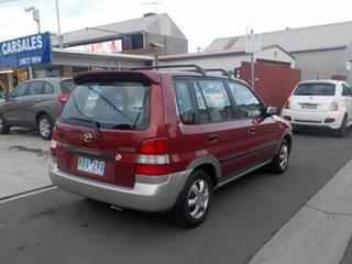 2002 Mazda 121 Metro Shades Red 4 Speed Automatic Hatchback