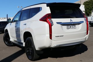2019 Mitsubishi Pajero Sport QE MY19 Black Edition White 8 Speed Sports Automatic Wagon.
