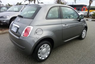 2013 Fiat 500 MY13 POP Charcoal Grey 5 Speed Automatic Hatchback