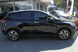 2020 Honda HR-V MY21 VTi-LX Crystal Black 1 Speed Constant Variable Hatchback.