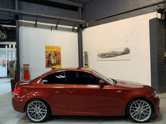 Used BMW 1 Series E82 MY10 123d Steptronic, 2010 BMW 1 Series E82 MY10 123d Steptronic Red 6 Speed Sports Automatic Coupe