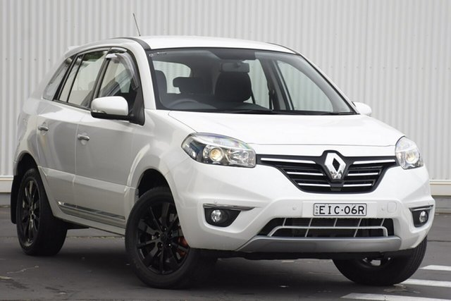 Used Renault Koleos H45 Phase III Expression, 2014 Renault Koleos H45 Phase III Expression White 1 Speed Constant Variable Wagon