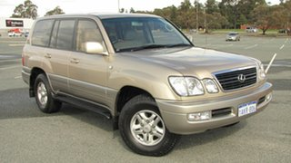 1999 Lexus LX UZJ100R LX470 Gold 4 Speed Automatic Wagon.