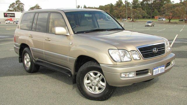 Used Lexus LX UZJ100R LX470, 1999 Lexus LX UZJ100R LX470 Gold 4 Speed Automatic Wagon