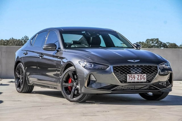 Used Genesis G70 IK MY19 Ultimate Sport, 2018 Genesis G70 IK MY19 Ultimate Sport Grey 8 Speed Sports Automatic Sedan