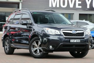 2014 Subaru Forester S4 MY14 2.5i Lineartronic AWD Luxury Black 6 Speed Constant Variable Wagon.