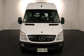 2012 Mercedes-Benz Sprinter NCV3 MY12 316CDI Low Roof MWB 7G-Tronic Transfer White 7 speed Automatic Bus.