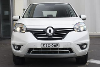 2014 Renault Koleos H45 Phase III Expression White 1 Speed Constant Variable Wagon