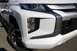 2020 Mitsubishi Triton MR MY20 GLX-R Double Cab White Diamond 6 Speed Sports Automatic Utility.