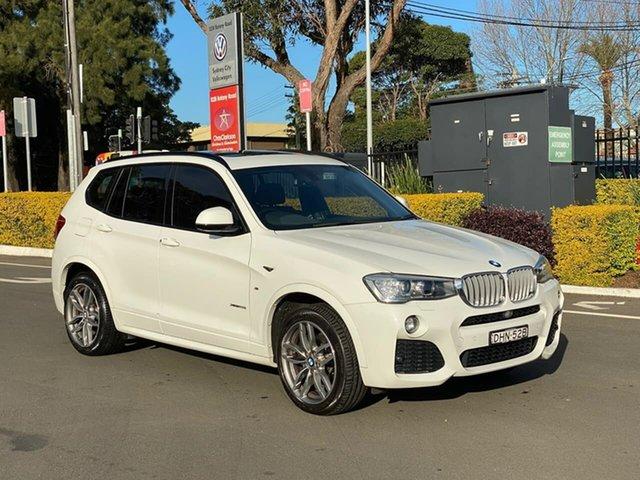 Used BMW X3 F25 LCI xDrive28i Steptronic, 2016 BMW X3 F25 LCI xDrive28i Steptronic White 8 Speed Sports Automatic Wagon