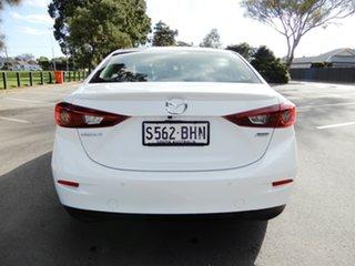 2015 Mazda 3 BM5238 SP25 SKYACTIV-Drive White 6 Speed Sports Automatic Sedan