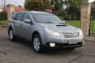 2011 Subaru Outback MY11 2.0D AWD Silver 6 Speed Manual Wagon.