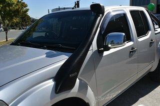 2007 Nissan Navara D40 ST-X (4x4) Silver 6 Speed Manual Dual Cab Pick-up