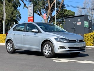 2020 Volkswagen Polo AW MY20 70TSI DSG Trendline Silver 7 Speed Sports Automatic Dual Clutch