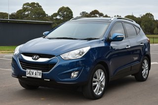 2012 Hyundai ix35 LM MY12 Highlander AWD Blue 6 Speed Sports Automatic Wagon
