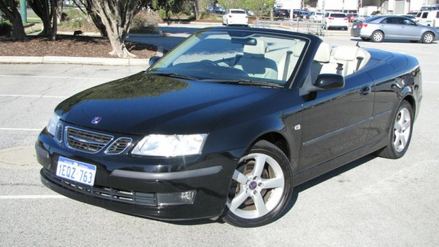 Used Saab 9-3 442 MY2006 Vector, 2006 Saab 9-3 442 MY2006 Vector Black 5 Speed Sports Automatic Convertible