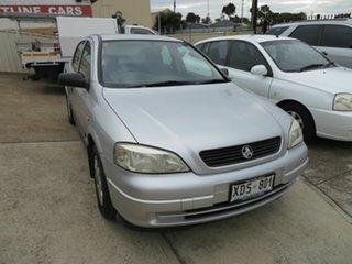 2004 Holden Astra TS City Silver 4 Speed Automatic Sedan.