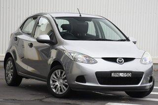 2010 Mazda 2 DE10Y1 MY10 Neo Aluminium 4 Speed Automatic Hatchback.