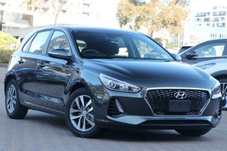 2020 Hyundai i30 PD2 MY20 Active Amazon Gray 6 Speed Sports Automatic Hatchback.